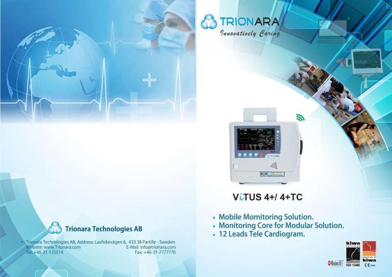 Trionara Vitus 4+ Patient Monitor