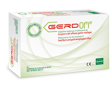 GERDOFF 20 MELT IN MOUTH TABLETS | SOFAR A qualified presence in the pharmaceutical world