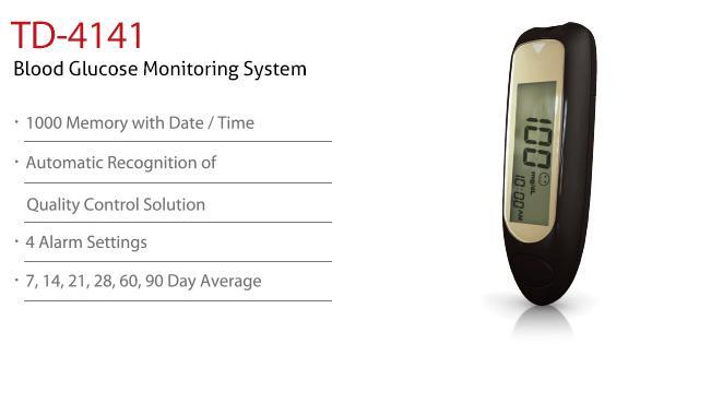 Blood Glucose Monitoring System TD-4141
