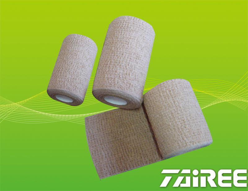 Spandex Crepe Self-adhesive Elastic Bandage