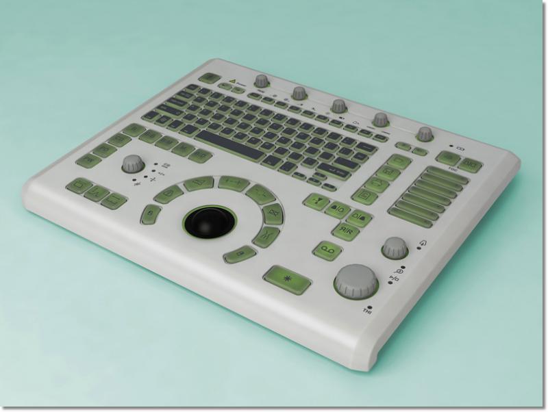 Telemed   LB-2 medical keyboard