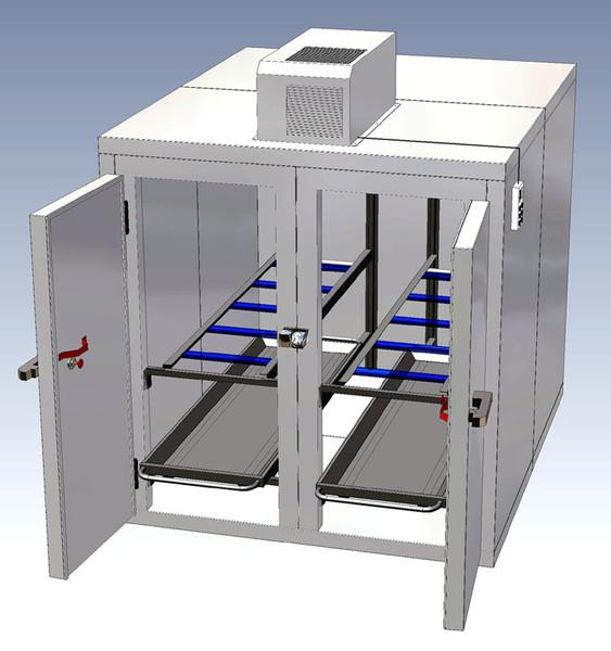 4 Cadavers / 2 Doors - Thalheimer Kühlung | German Manufacturer of Medical Refrigerators and equipment