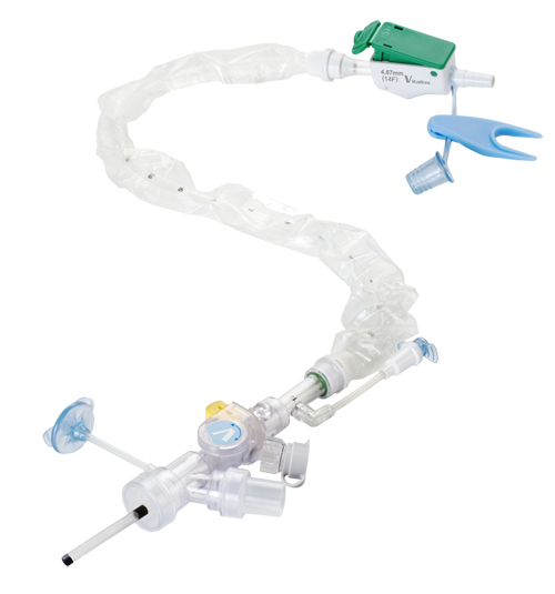 Multi-function - Vital-Cath™ Max Closed Suction Systems - Vitaltec Corp. - Airway management Devices   Closed suction system, Tracheostomy tube