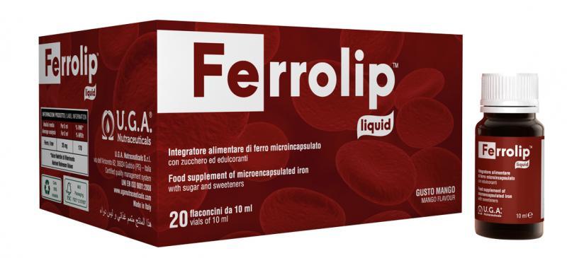 FERROLIP™ - iron supplement in great tasting liquid form