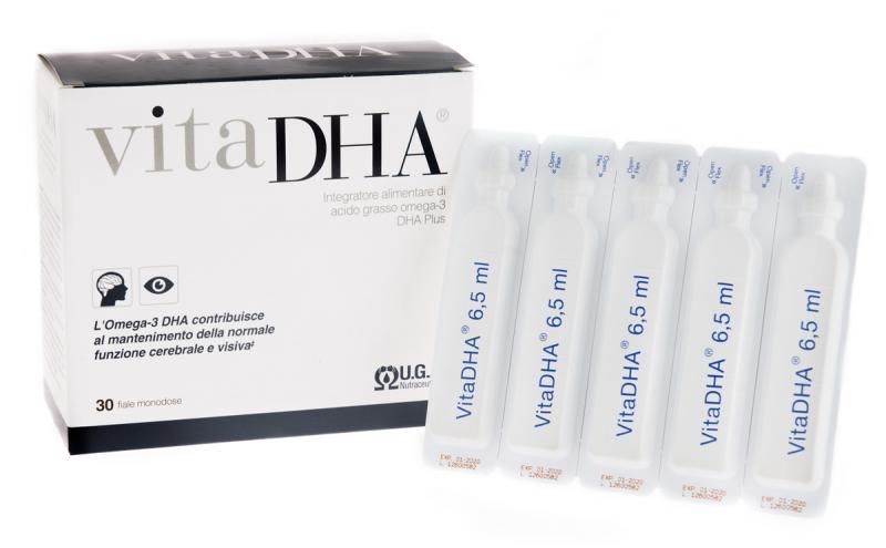 VITADHA® liquid - high content omega-3 DHA supplement in single vial