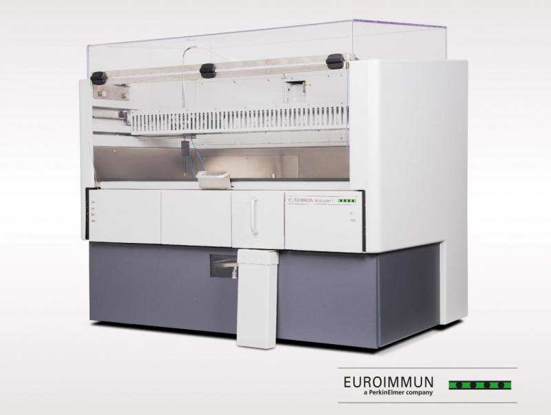 EUROIMMUN Analyzer I: Fully automated ELISA processing