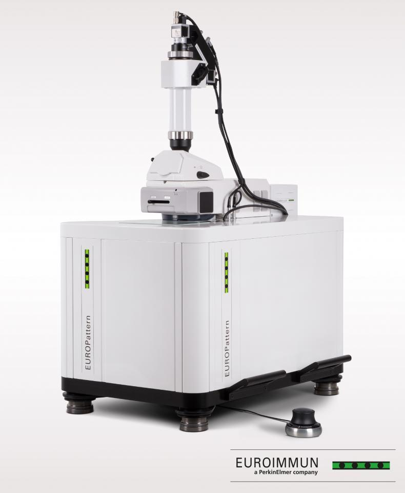 EUROPattern: Computer-aided immunofluorescence microscopy