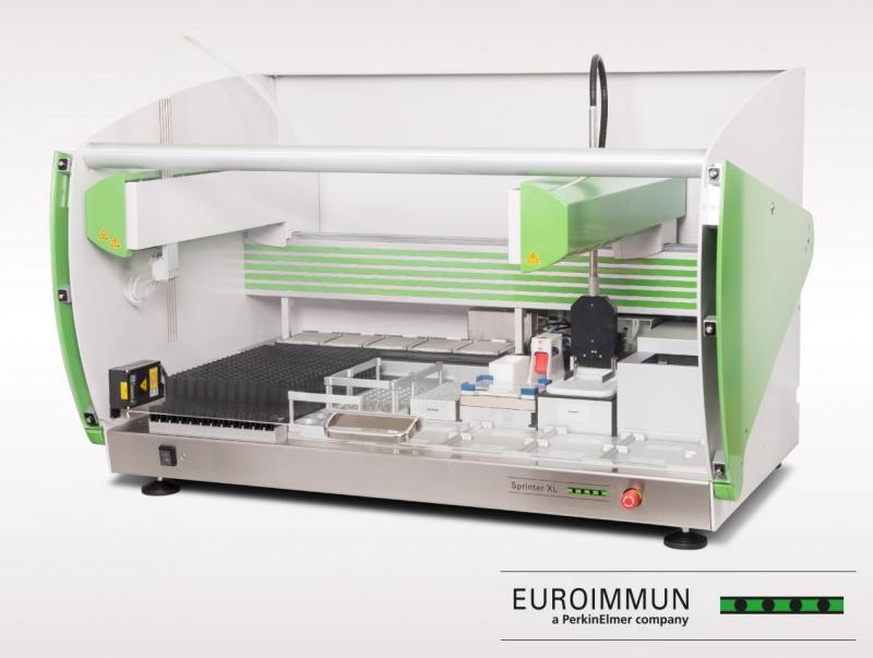 EUROIMMUN Sprinter XL: IFT and ELISA processor