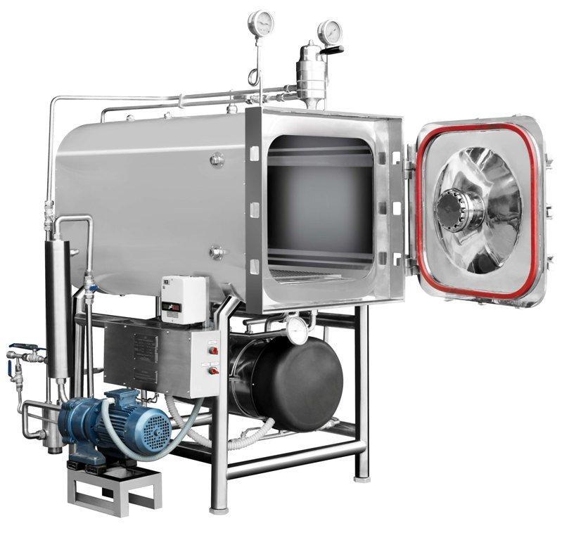 Horizontal High Pressure Rectangular Steam Sterilizer