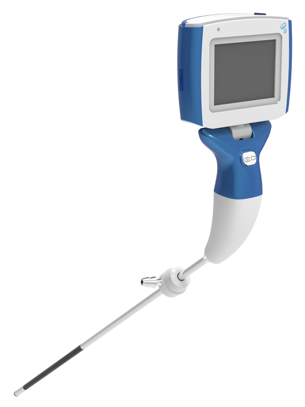 Visual Rigid Laryngoscope TRS-bendable--Zhejiang UE Medical Corp.|larygoscope|video laryngoscope|video stylet|flexible videoscope|airway management