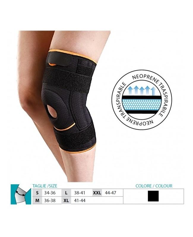 14d51a2e01 Neoprene Knee Support With Flexible Stays Cod. 5709 | SAFTE SPA