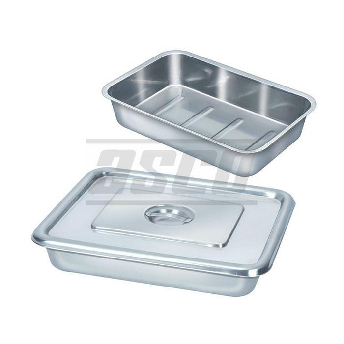 Instrument Tray with Cover, SS