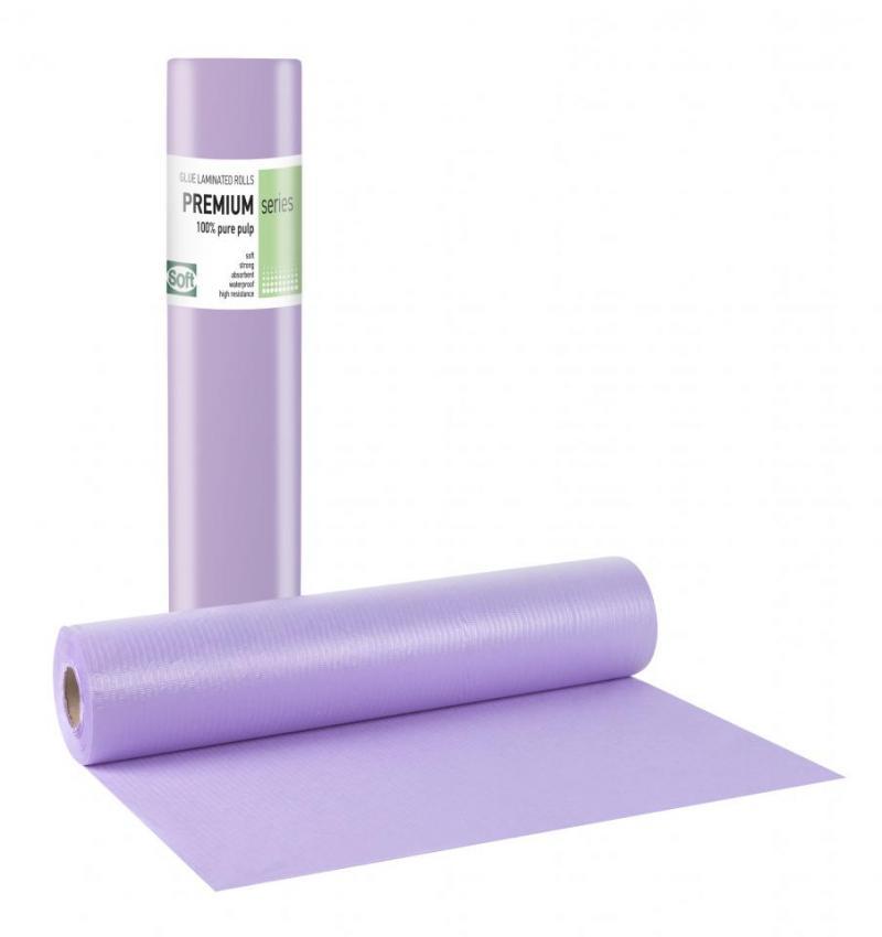 Pure pulp + Pe glue Purple Roll