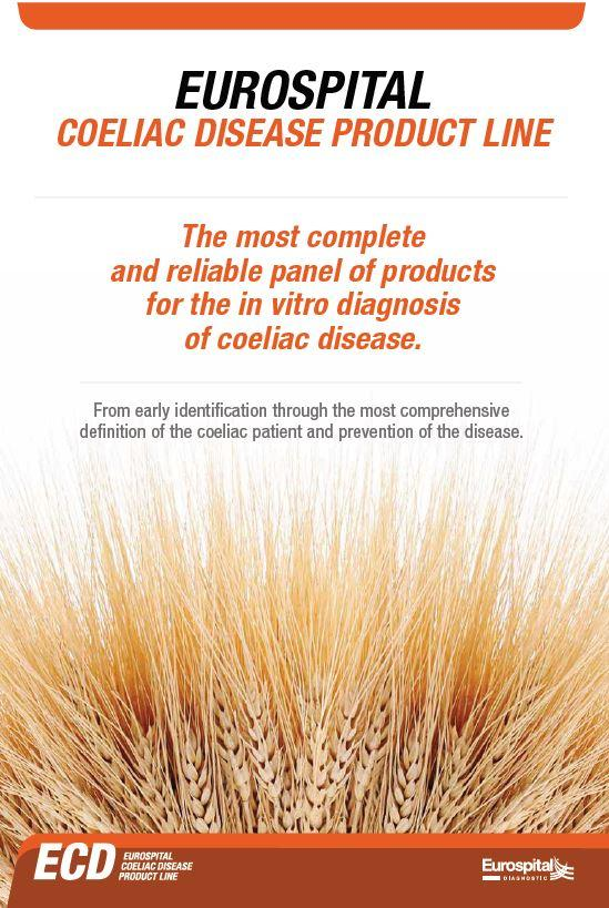 The most complete and reliable panel of products for the in vitro diagnosis of coeliac disease.