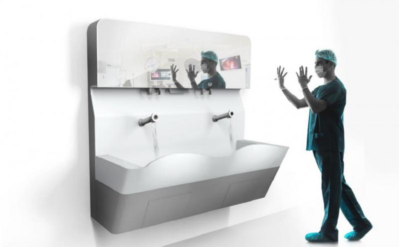 ALVO Premium Scrub Sink