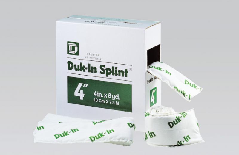Duk-In Splint (Plaster Splint)