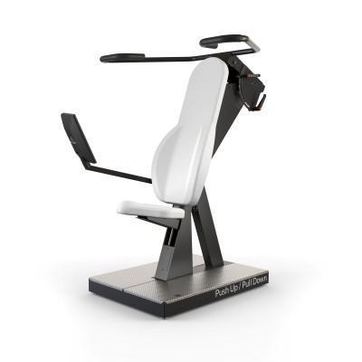 HUR gym Exercise equipment 5120 Push Up / Pull Down Rehab HUR