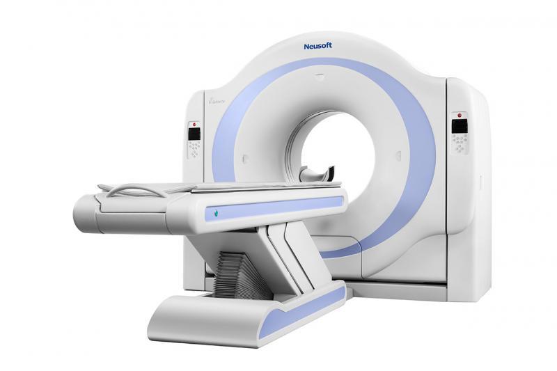 16 slice CT
