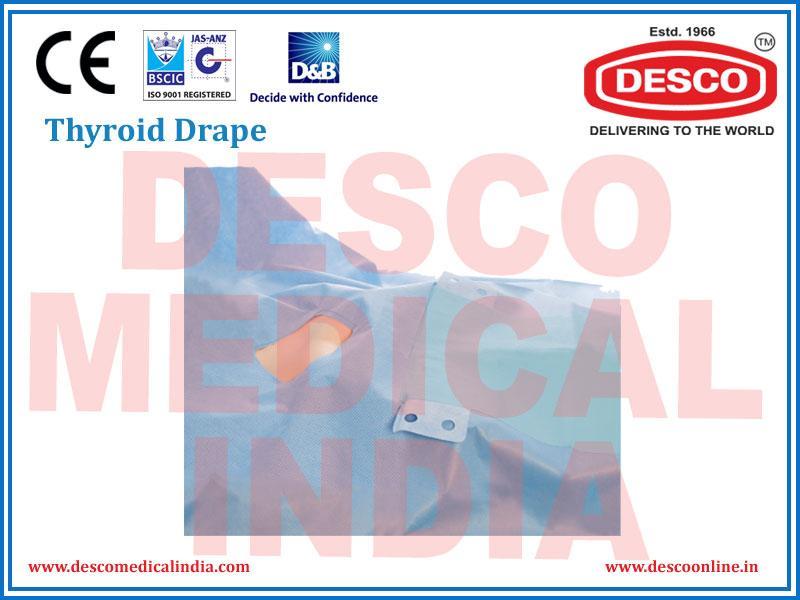 THYROID DRAPE | DELUXE SCIENTIFIC SURGICO PVT LTD