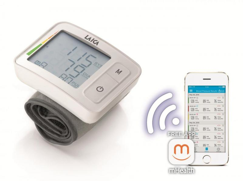 Smart wrist blood pressure monitor