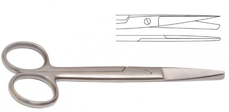 Scissors Operating Straight 14cm Stainless Steel