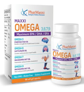 Maxxi Omega 3 6 7 9 Pharmaxxi Pharmaceutical