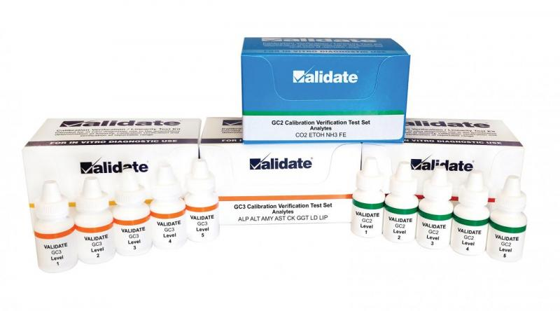 VALIDATE® General Chemistry for Easy, Fast, Efficient linearity and calibration verification