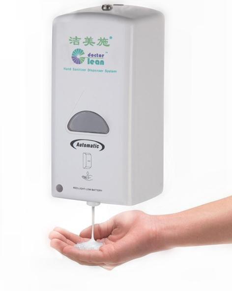 touchless sanitizer dispenser, automatic soap dispenser, hand hygiene dispenser