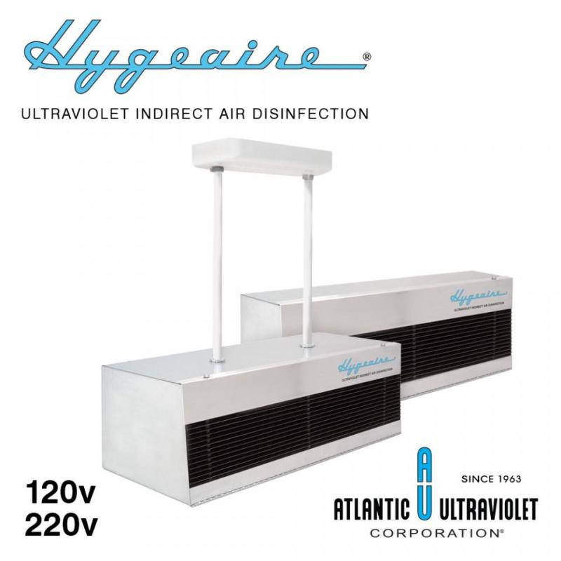 Hygeaire UV Indirect Air Disinfection Fixtures