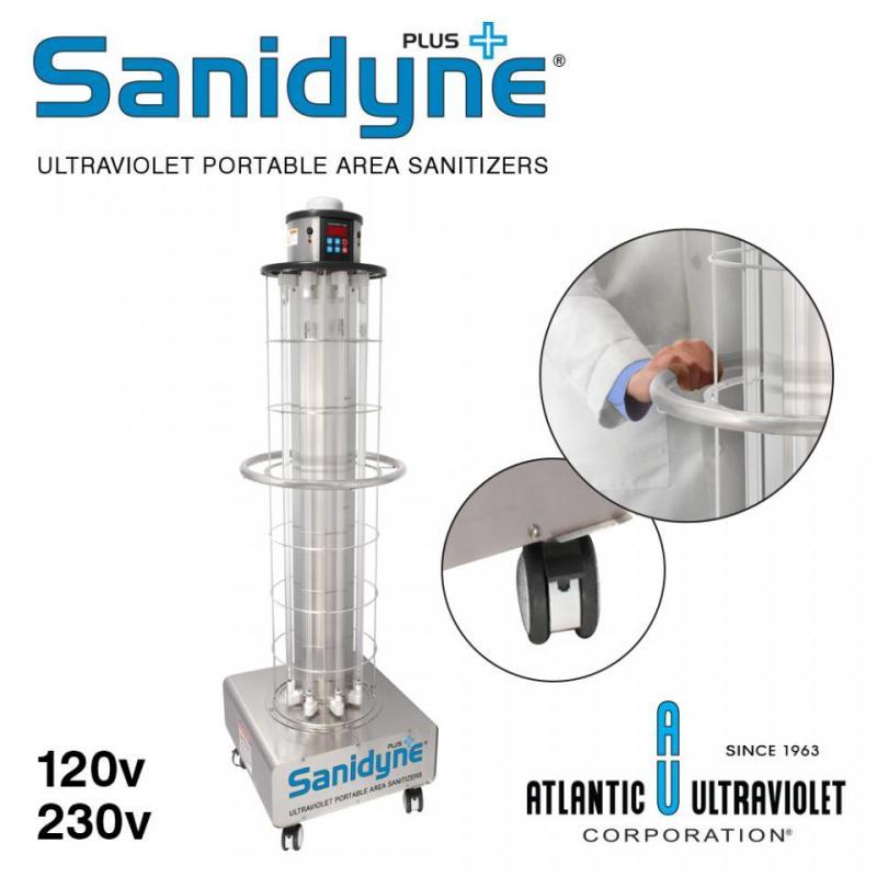 Sanidyne Plus UV Portable Area Sanitizer