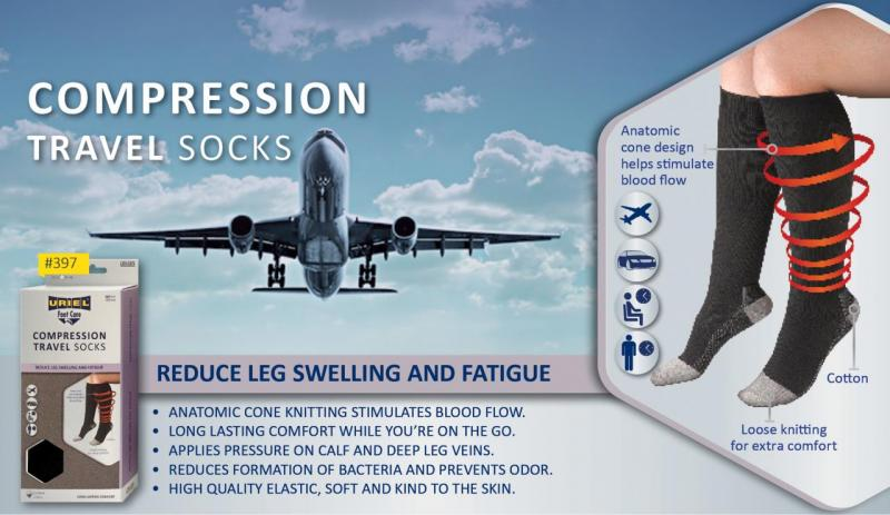Compression Travel Socks