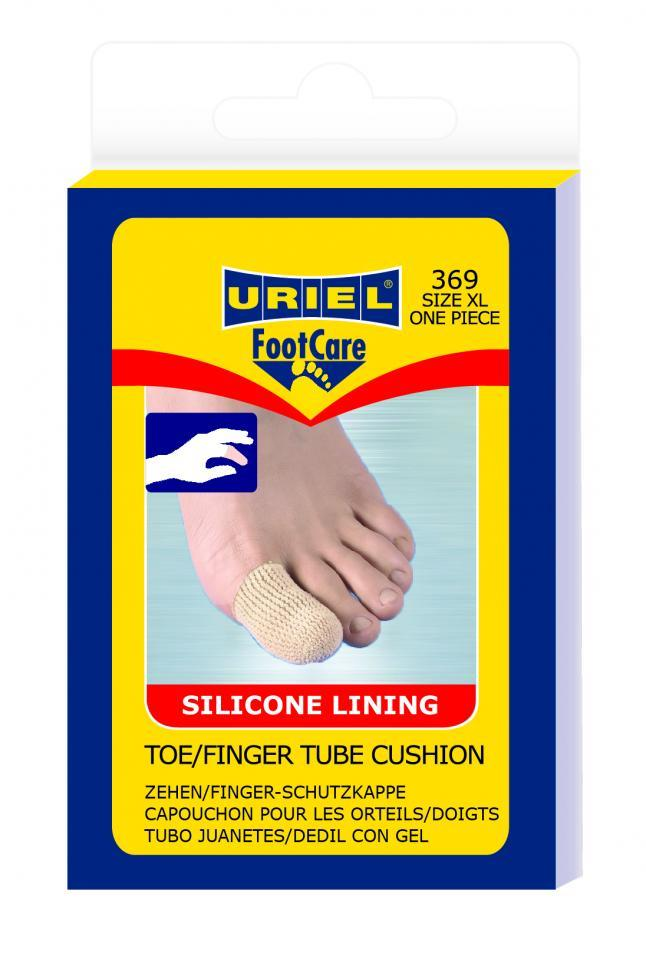 Toe/finger tube cusion