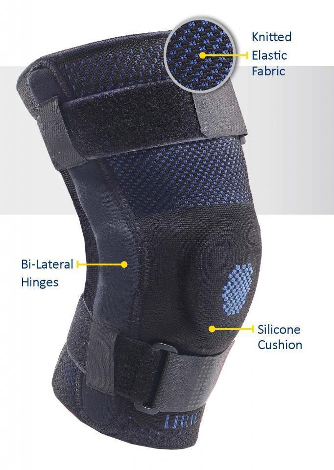 Hinged Genusil Knee Sleeve