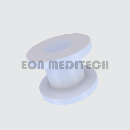 Collar Button - PTFE (Fluoroplastic Ventilation Tube, Grommet, Middle Ear Implants)