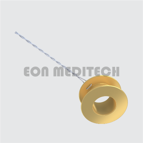 Gold Vent Type Collar Button with Wire(Ventilation Tube/Grommet)