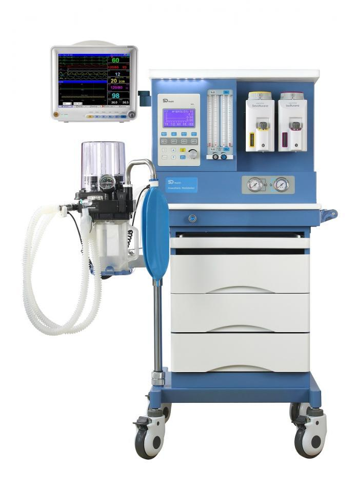 anesthesia workstaion with patient monitor