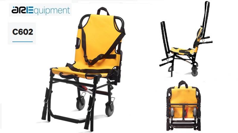ARE C602 Foldable Orthopedic Chair (2 wheels)