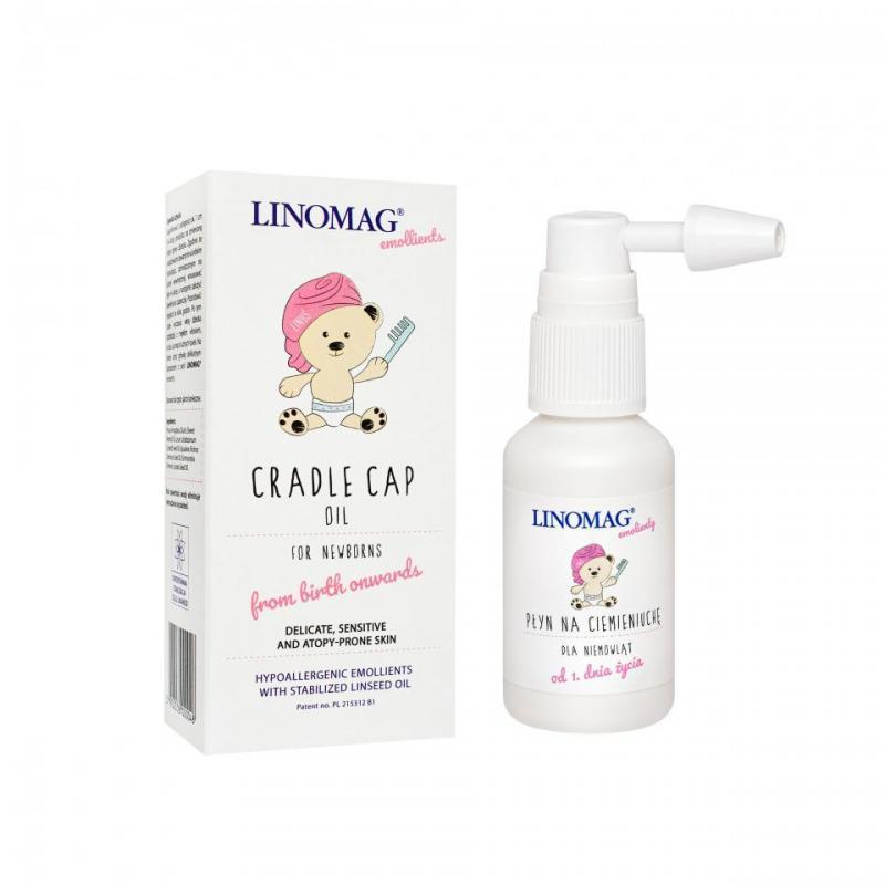 emollient baby cradle cap oil