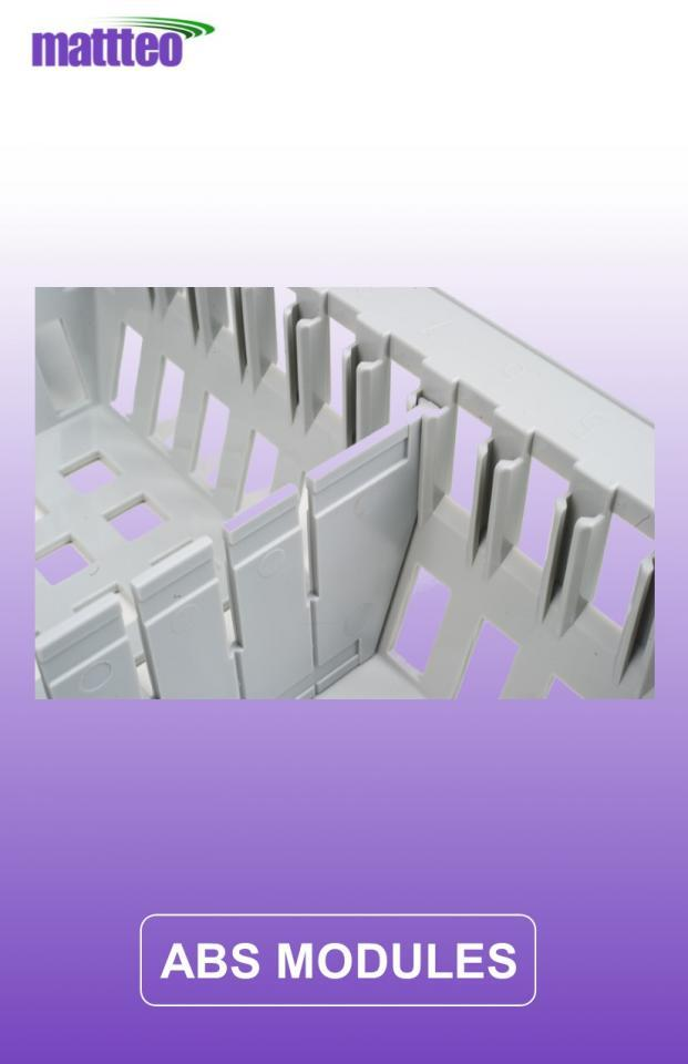 MODUL-iT ISO Modular Trays and Baskets in ABS