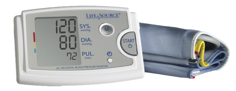 Premium Blood Pressure Monitor with Extra Large Cuff (UA-789AC)