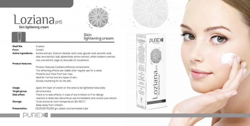 loziana lightening cream