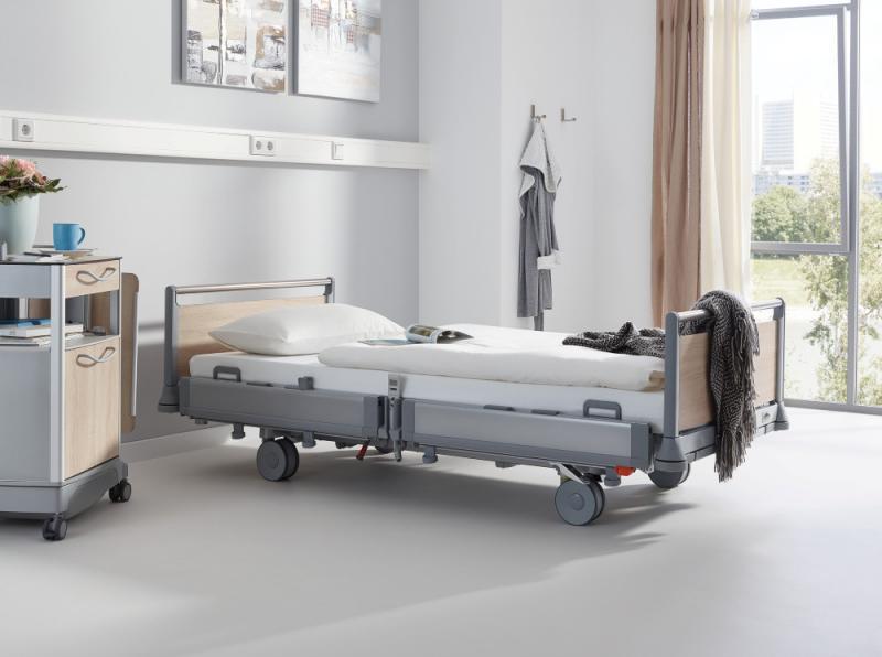 Puro hospital bed by Stiegelmeyer