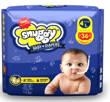 SNUGGY Baby Premium Diaper Tape