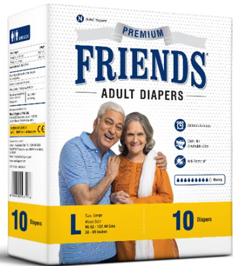 Friends Adult Diaper Premium