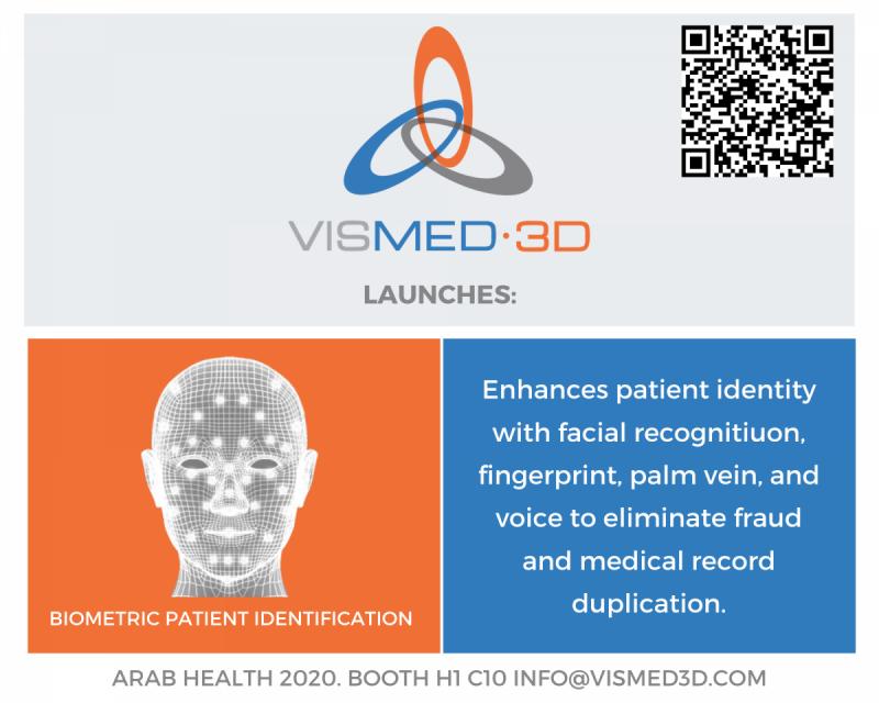 Vismed3d.com - Biometric patient verification