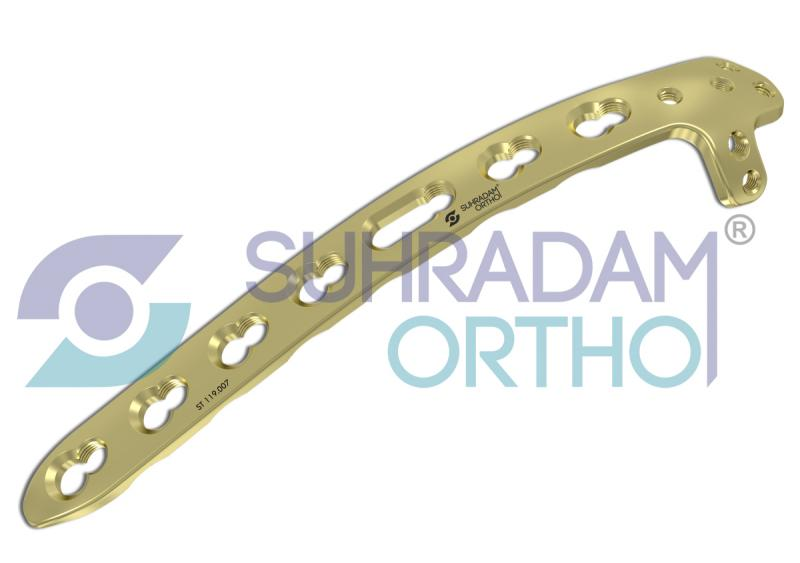 3.5mm LCP Posterior Distal Humerus Plate, With Support
