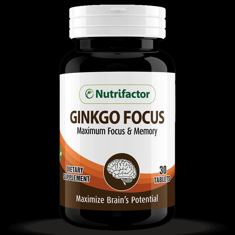 GINKGO FOCUS | Ginkgo Biloba | Panax Ginseng