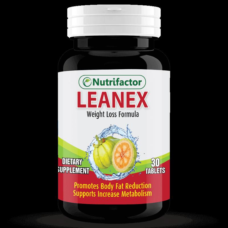 LEANEX | Garcinia Cambogia | Green Tea | Ginger Root | Chromium