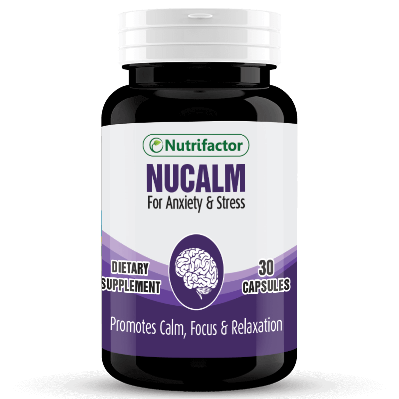 NUCALM | Valerian Root Extract | Chamomile Flower Extract | Passion Flower Extract