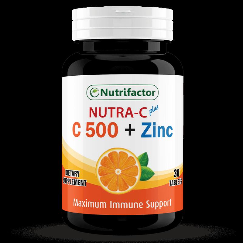 NUTRA-C Plus | Vitamin C | Zinc